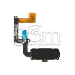 Home Button Black Flat Cable Samsung SM-A320 A3 2017