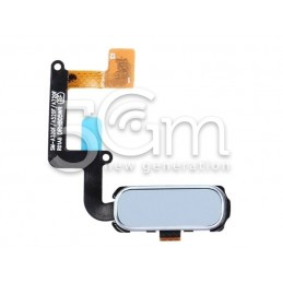 Home Button White Flat Cable Samsung SM-A320 A3 2017