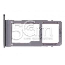 Micro SD Tray Black Samsung SM-A520F A5 2017