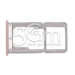 Sim Card + Micro SD Holder Gold OnePlus X