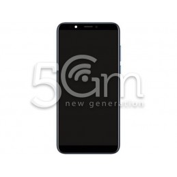 Lcd Touch Black With Frame Honor 7C