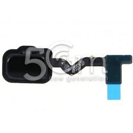 Tasto Home Nero Flat Cable Samsung SM-A600 A6 2018