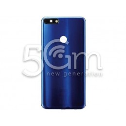 Back Cover Blue Huawei Y7 2018