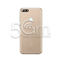 Retro Cover Gold Huawei Y7 2018