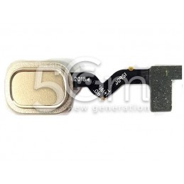 Home Button Gold Flat Cable Samsung SM-A600 A6 2018