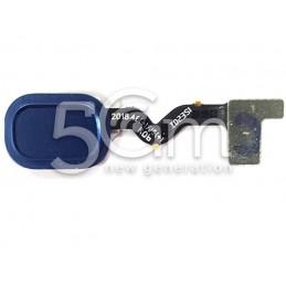 Tasto Home Blue Flat Cable Samsung SM-A600 A6 2018