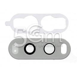 Vetrino Bianco Per Fotocamera Posteriore LG V30