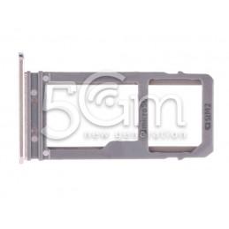 Supporto Dual Sim + Micro SD Gold Samsung SM-A720F A7 2017