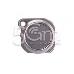 Home Button Silver LG K8 2017 M200N