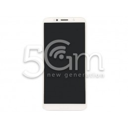 Display Touch Bianco + Frame Huawei Y5 2018