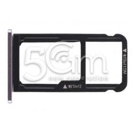 Supporto Sim Card + Micro SD Black Huawei Nova Smart