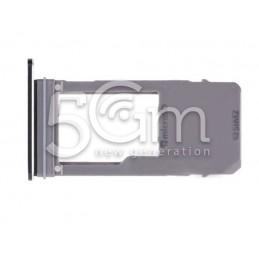 Supporto Micro SD Nero Samsung SM-A530 A8 2018