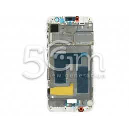 Frame Lcd White Huawei Nova Plus