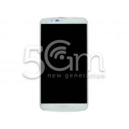 Display Touch Bianco + Frame LG K10 4G K420N