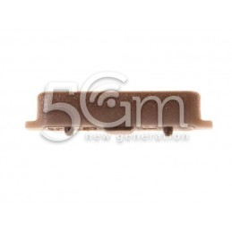 Power Button Gold Samsung SM-A605 A6+