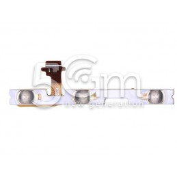 Tasto Accensione + Volume Flat Cable Huawei Y6 Pro 2017