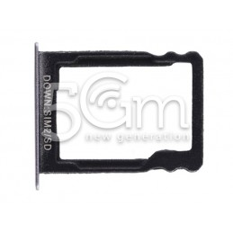 Supporto Memory Card Nero Huawei P8 Lite Smart