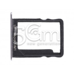 Supporto Sim Card Nero Huawei P8 Lite Smart