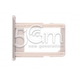 Supporto Sim Card Gold Samsung SM-G570F J5 Prime
