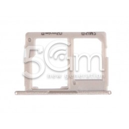 Holder Dual Sim card/SD Card Gold SM-J530