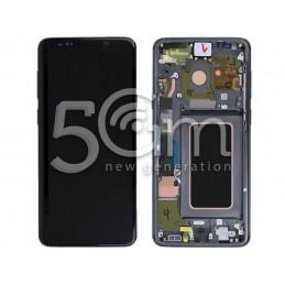 Display Touch Black + Frame Titanium Grey Samsung SM-G965 S9 Plus