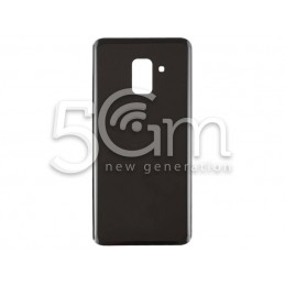 Back Cover Black + Adhesive Samsung SM-A730 A8+