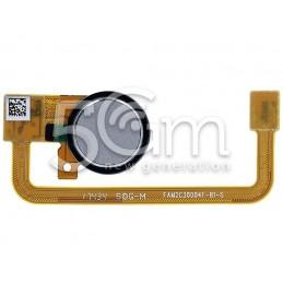 Fingerprint Silver Flat Cable Xperia XA2 (H3113)