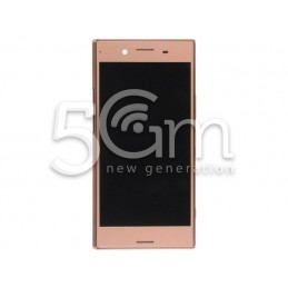 Lcd Touch Pink + Frame Xperia XZ Premium (G8141)