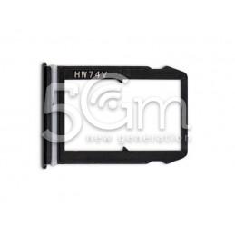 Supporto Sim Card Nero Xiaomi Mi 6