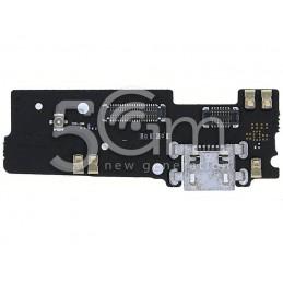 Connettore Di Ricarica + Small Board Motorola Moto E4 Plus (XT1773)