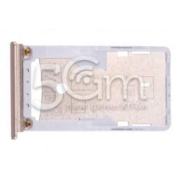 Dual Sim + Micro SD Tray Gold Xiaomi Mi Max 2