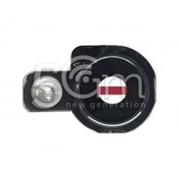 Vetrino Fotocamera Gold + Frame LG Q6 M700