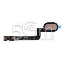 Home Button Flat Cable Gold Motorola Moto G5S (XT1794)