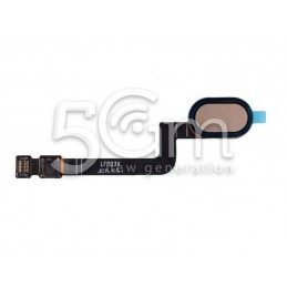 Tasto Home Gold Flat Cable Motorola Moto G5S (XT1794)