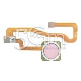 Tasto Home Silver Flat Cable Xiaomi Redmi Note 5A Prime