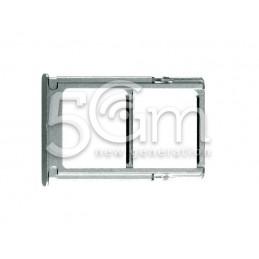 Supporto Dual Sim Card/SD Card Silver Xiaomi Mi 5S