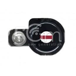 Vetrino Fotocamera Nero + Frame LG Q6 M700N