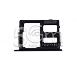 Supporto Dual Sim Card/SD Card Nero Samsung SM-G570F J5 Prime
