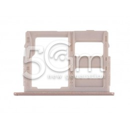 Supporto Dual Sim Card/SD Card Gold Samsung SM-G570F J5 Prime