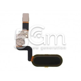 Home Button Black Flat...