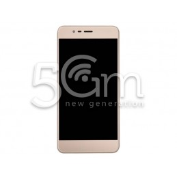 Lcd Touch Gold + Frame Asus...