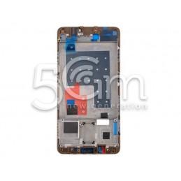 Frame Lcd Gold Huawei Mate...