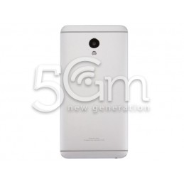 Back Cover Silver Meizu M3E