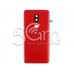 Back Cover Red OnePlus 6