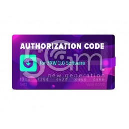 Authorization Code for ZXW...