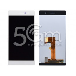 Display Touch Bianco Huawei P7