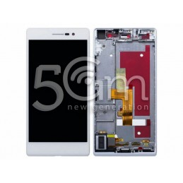 Lcd Touch White + Frame...