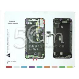 Magnetic Screw Mat iPhone XS