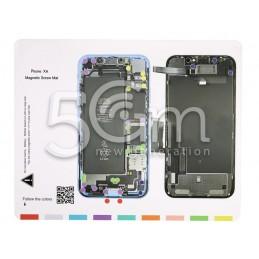 Magnetic Screw Mat iPhone XR