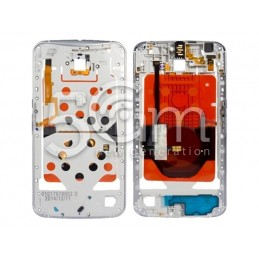 Middle Frame White Motorola...